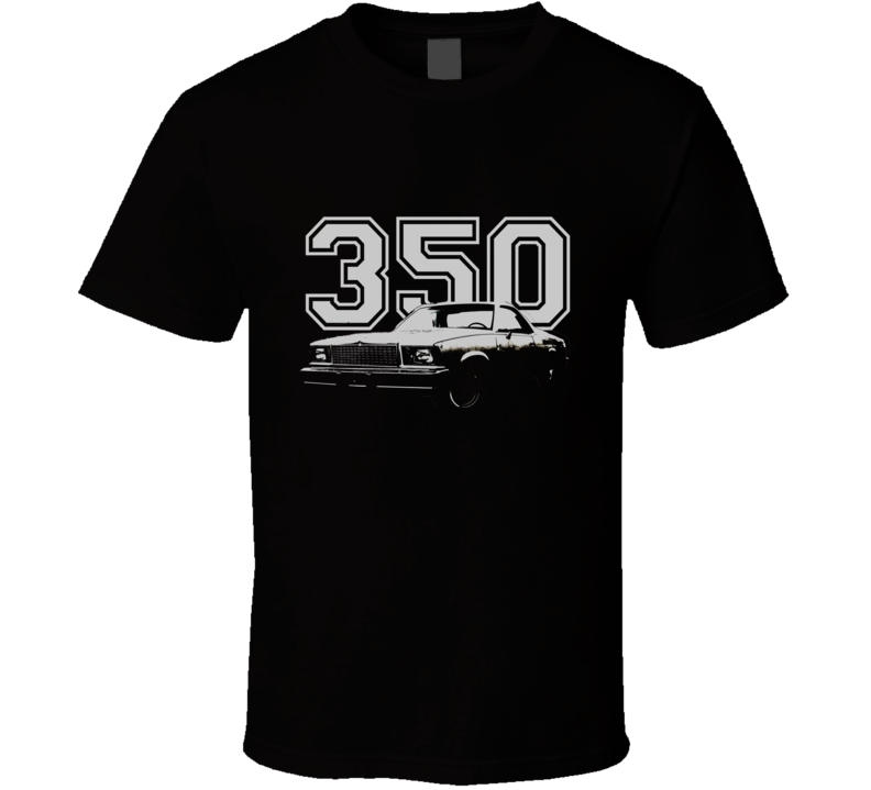 1978 GMC CABALLERO Faded Look Side View Black Graphic With Year White T Shirt