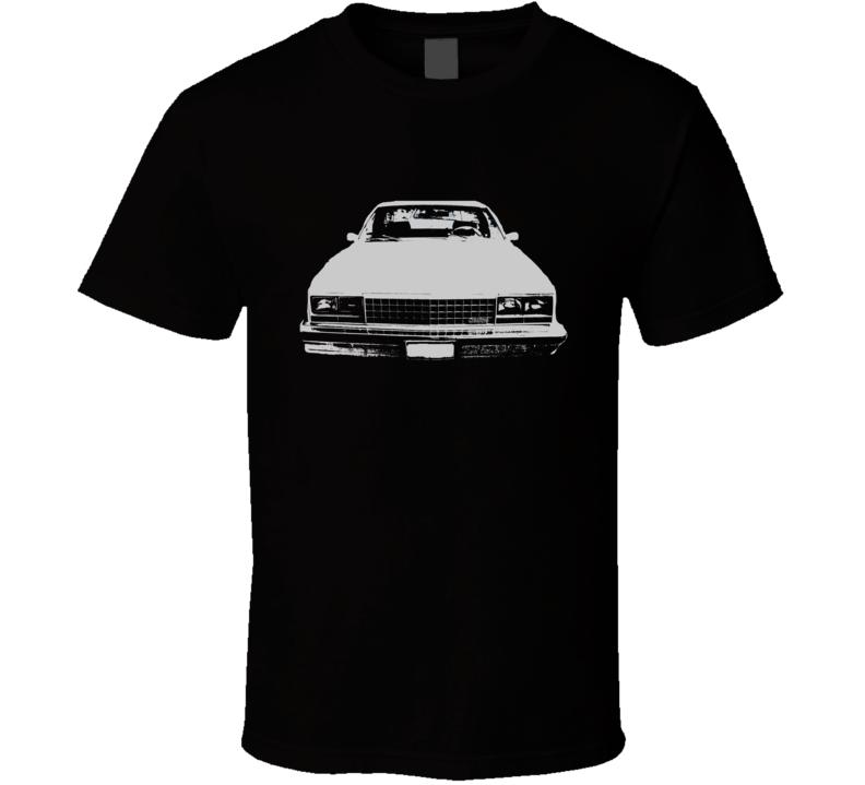 1978 GMC CABALLERO Grill VIew Black Graphic Light T Shirt