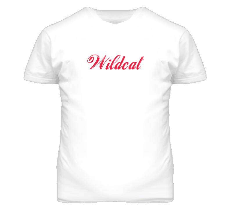 Buick Wildcat Cola Font Parody Distressed Look Light T Shirt