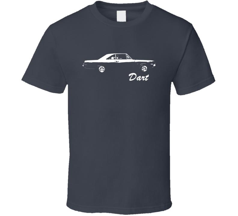 1972 Dodge Dart Side With Name Dark Shirt