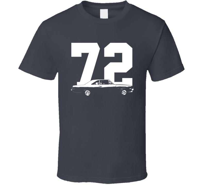 1972 Dodge Dart Side With Year Dark Shirt
