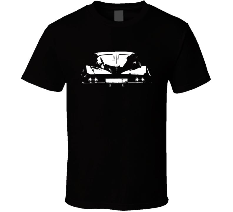 1963 Corvette Split Window Rear View Dark Shirt
