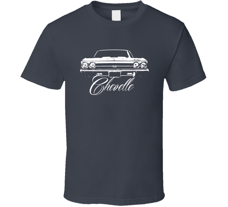 1969 Chevelle Grill View With Model T Shirt