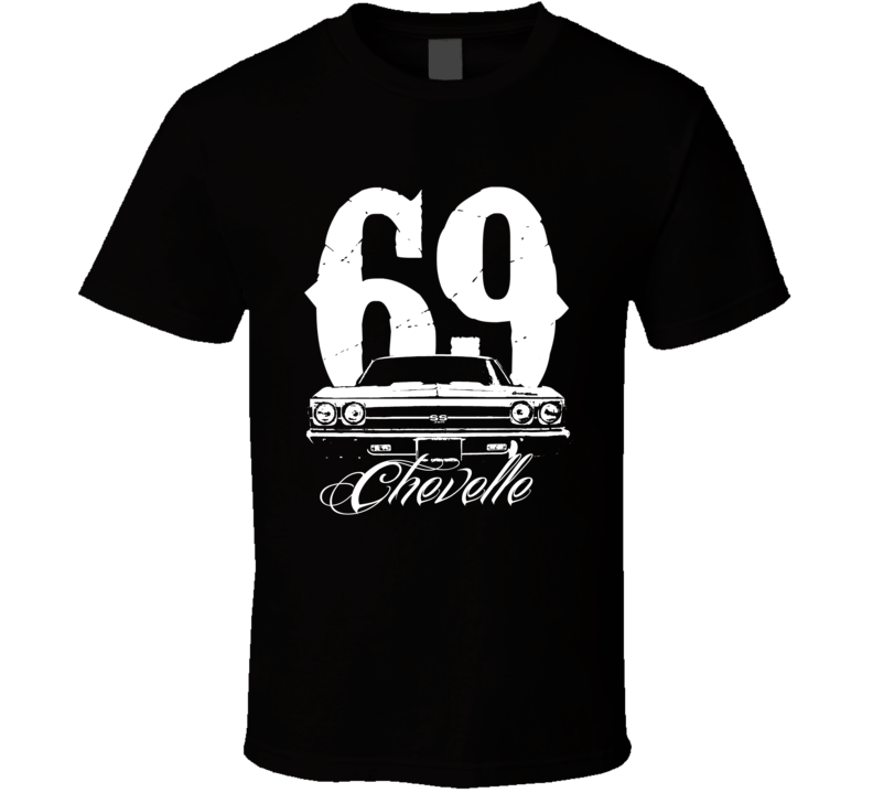 1969 Chevelle Grill With Year and Model Tee T Shirt