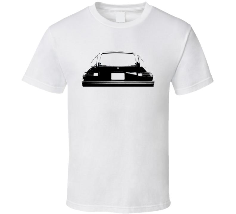 1978 AMC Pacer Rear View Black Graphic Light T Shirt