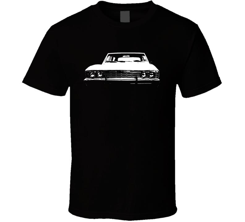 1967 Chevelle Grill View Dark Shirt