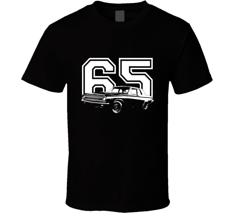 1965 DODGE CORONET 426 HEMI Side View With Year Dark Shirt