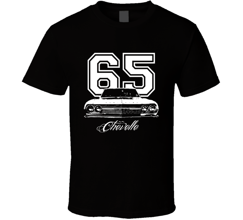 1965 CHEVELLE Grill View Model Year Dark Shirt