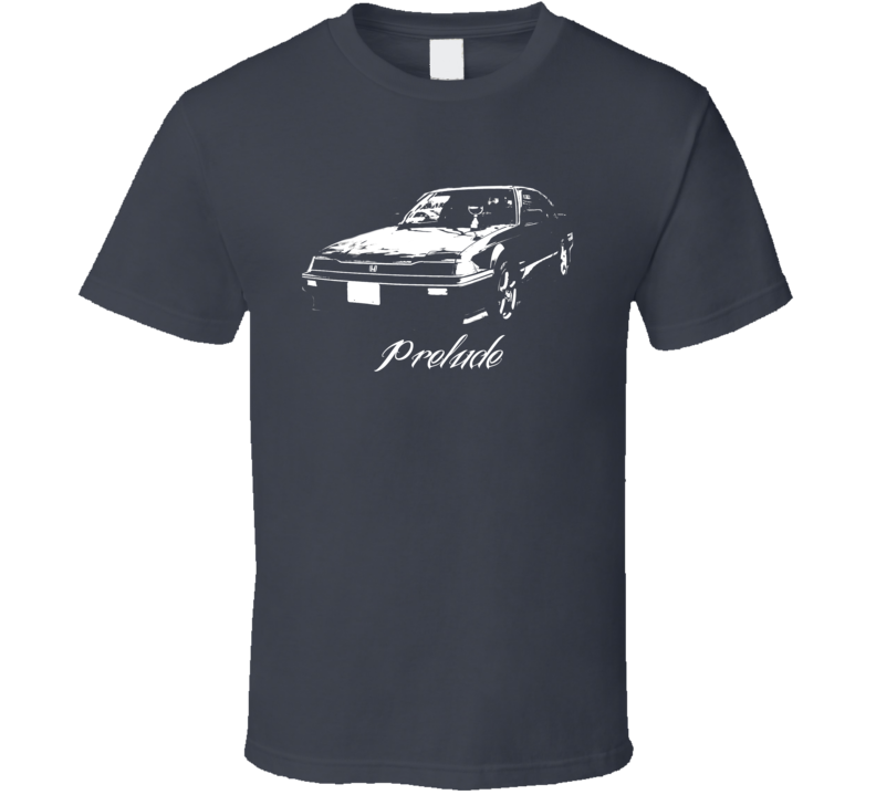 Custom Honda Prelude Side Modle T Shirt