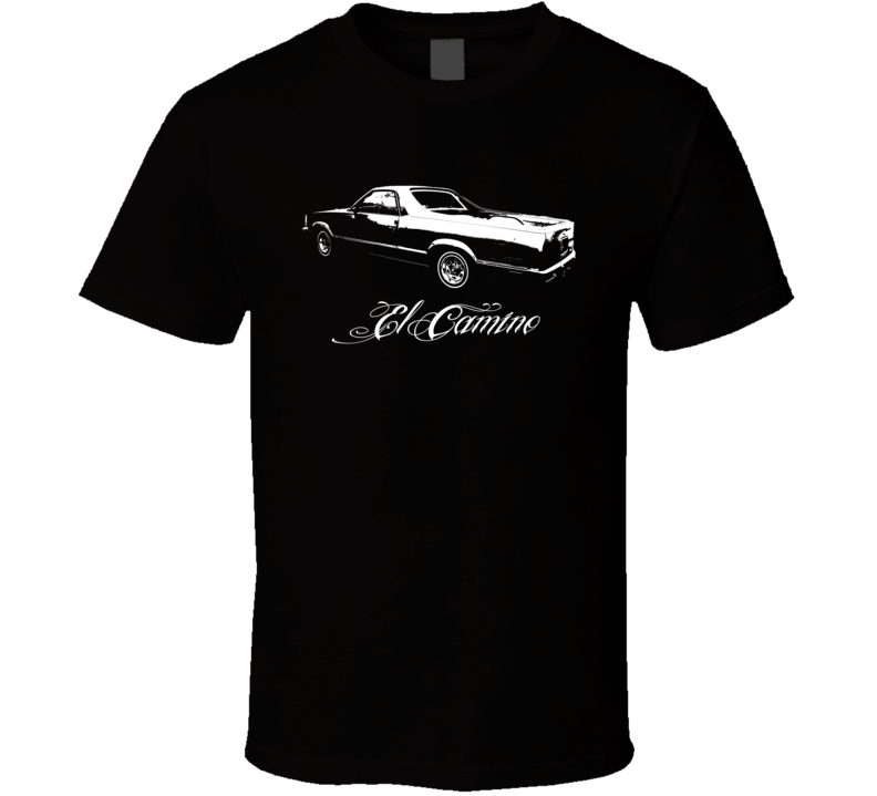 1981 Chevrolet  El Camino Side Model T Shirt