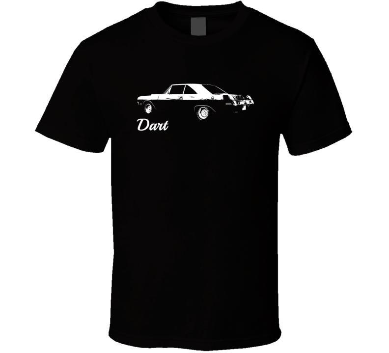 1970 Dodge Dart Side View Model Dark Shirt