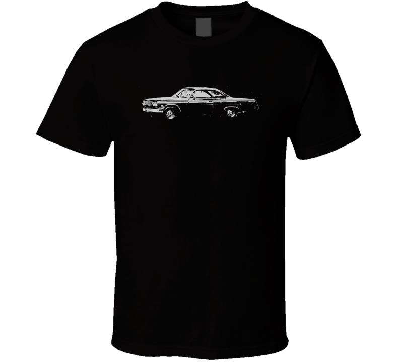1962 Chevy Bel Air Side Dark Shirt