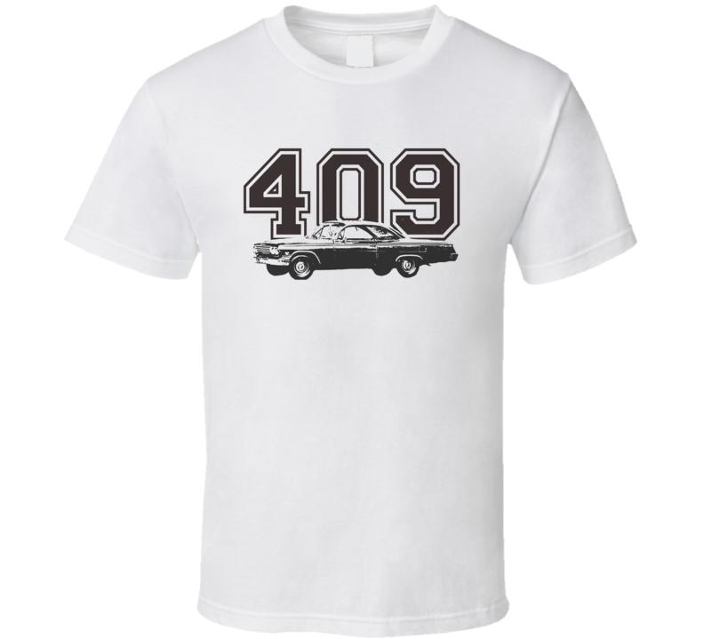 1962 Chevy Bel Air Side Engine Size Light Shir T Shirt