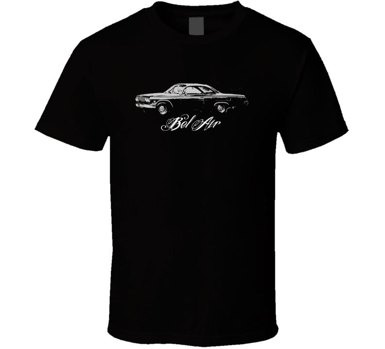 1962 CHEVY BEL AIR Side Model Dark Shirt
