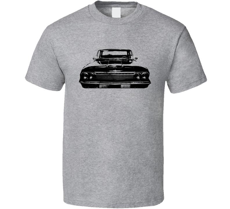 1962 Chevrolet Bel Air Grill View Light Shirt
