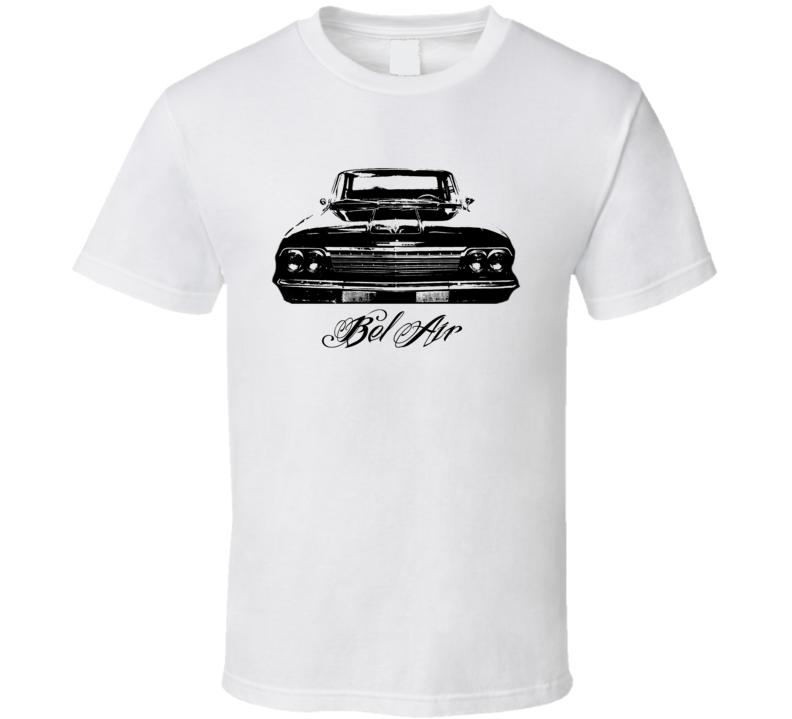 1962 Cheverolet Bel Air Grill View Model Light Shirt