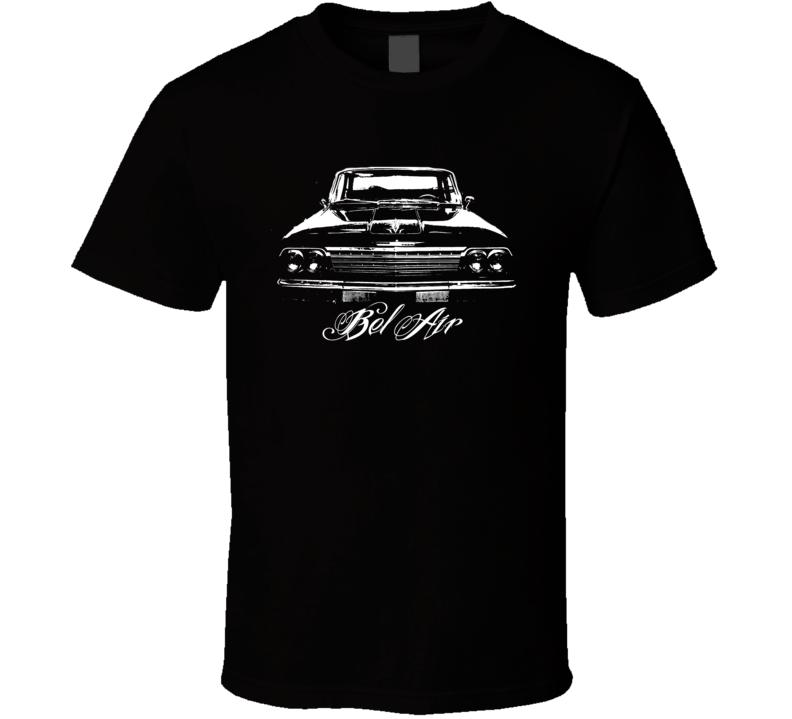 1962 Chevrolet Bel Air Grill View Model Dark Shirt