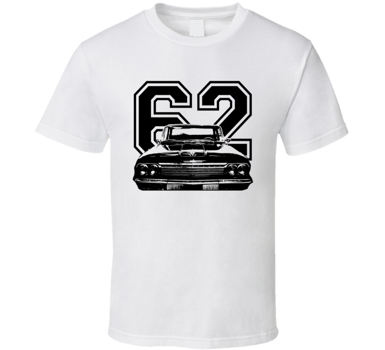 1962 Chevrolet Bel Air Grill View Year Light Shirt