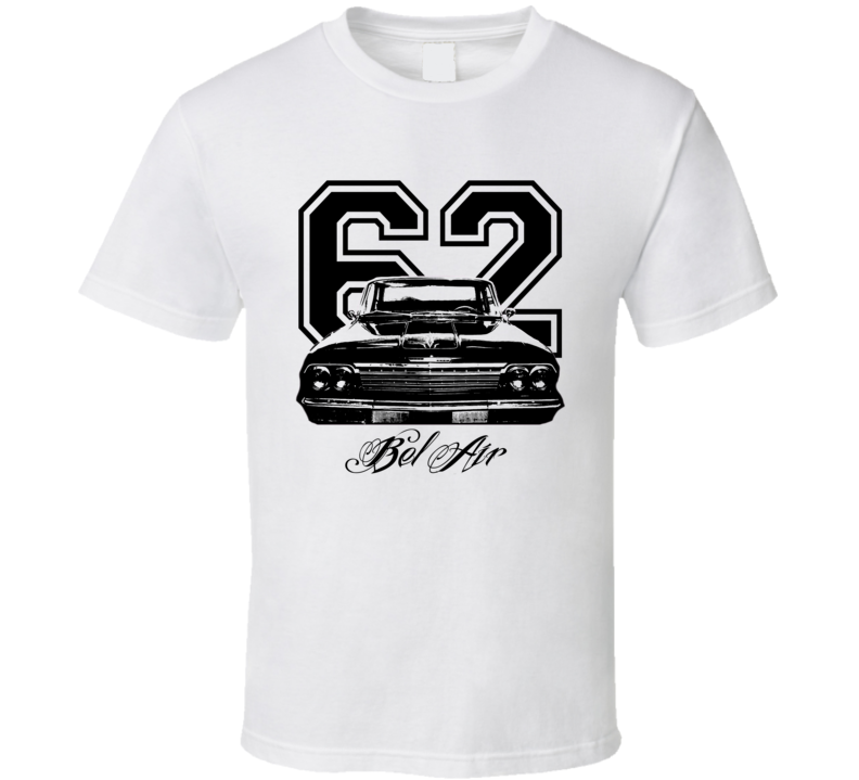 1962 Chevrolet Bel Air Grill View Year Model Light Shirt