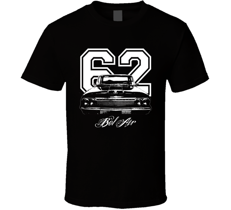 1962 Chevrolet Bel Air Grill View Year Model Dark Shirt