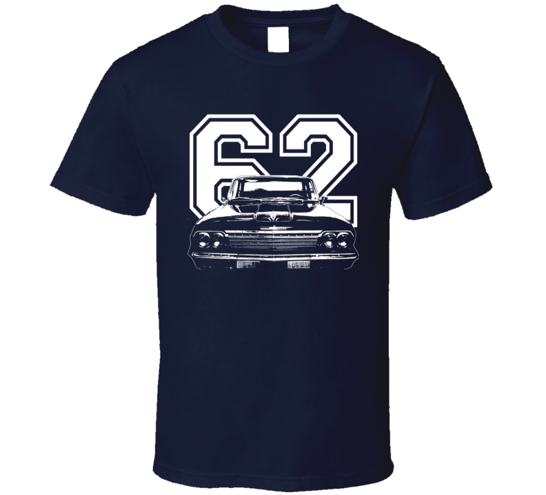 1962 Chevrolet Bel Air Grill View Year Dark Shirt