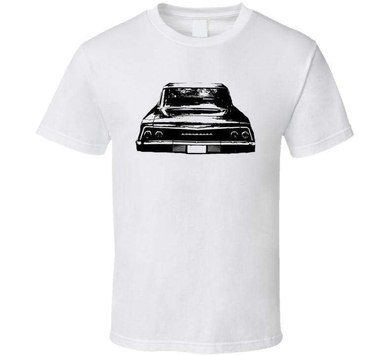 1962 Chevrolet Bel Air Rear View Light Shirt