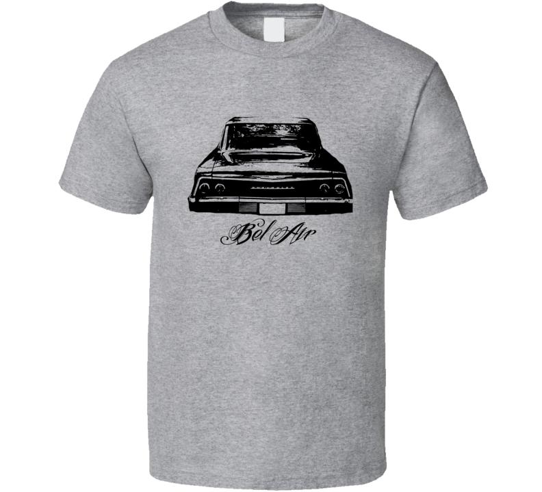 1962 Chevrolet Bel Air Rear View Model Light Shirt