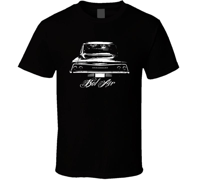 1962 Chevrolet Bel Air Rear View Model Dark Shirt