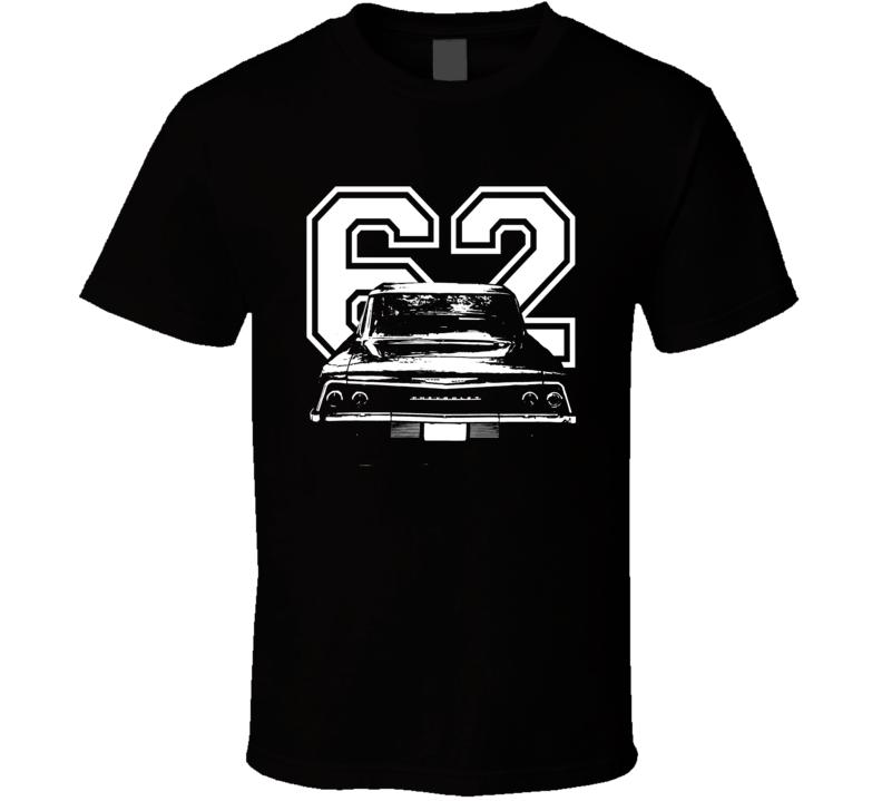 1962 Chevrolet Bel Air Rear View Year Dark Shirt