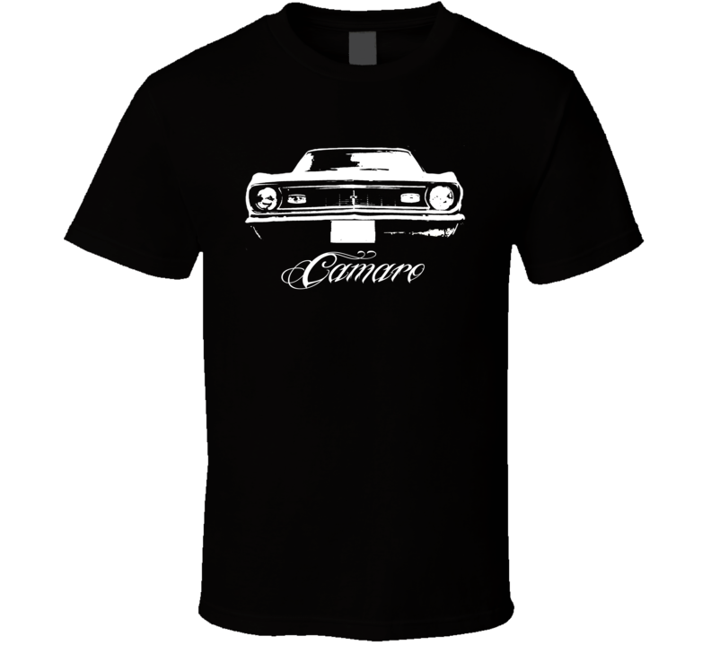 1968 Chevrolet Camaro Grill View Model Dark Shirt