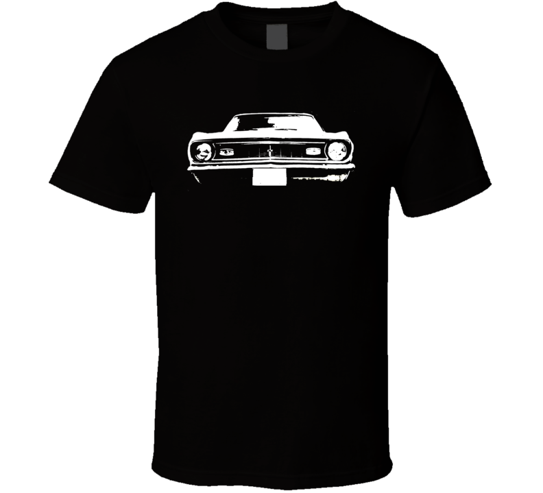 1968 Chevrolet Camaro Grill View  T Shirt