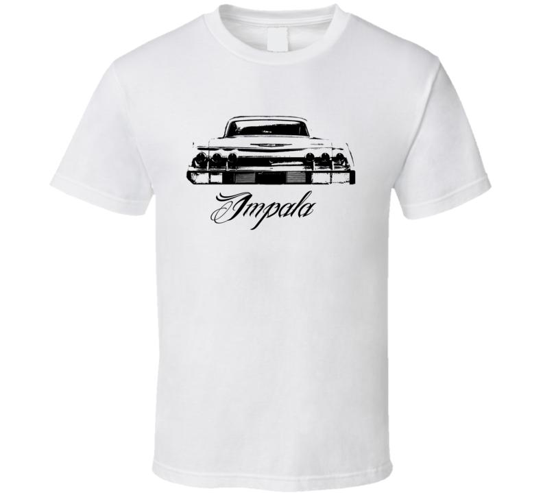 1962 Chevrolet Impala Rear View Model Light Shirt