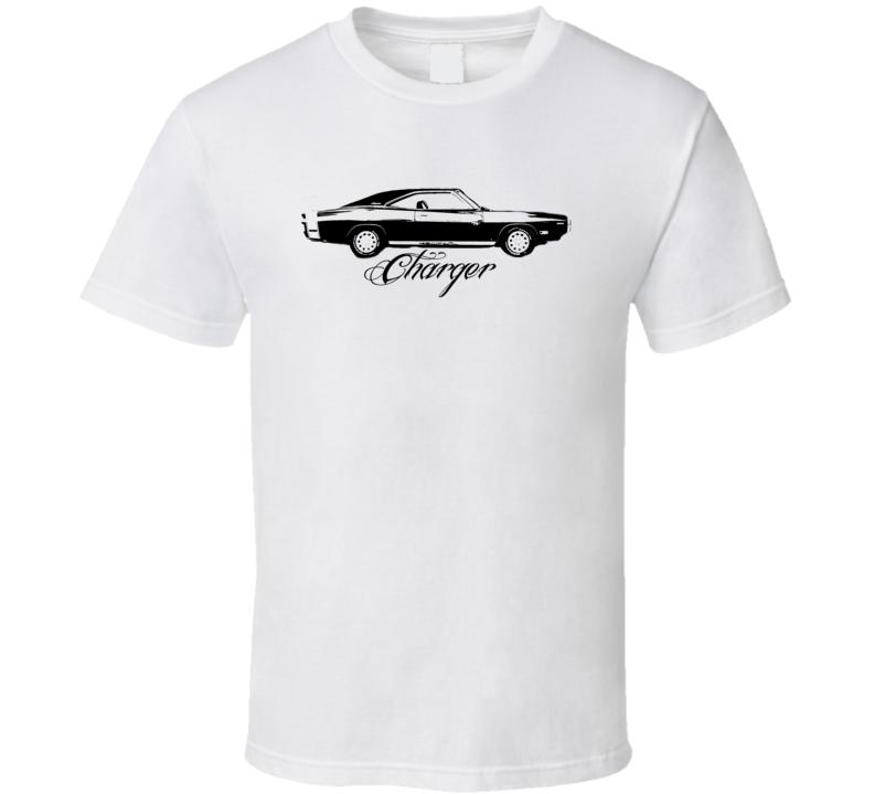 1970 Dodge Charger Side View Model Light Shirt
