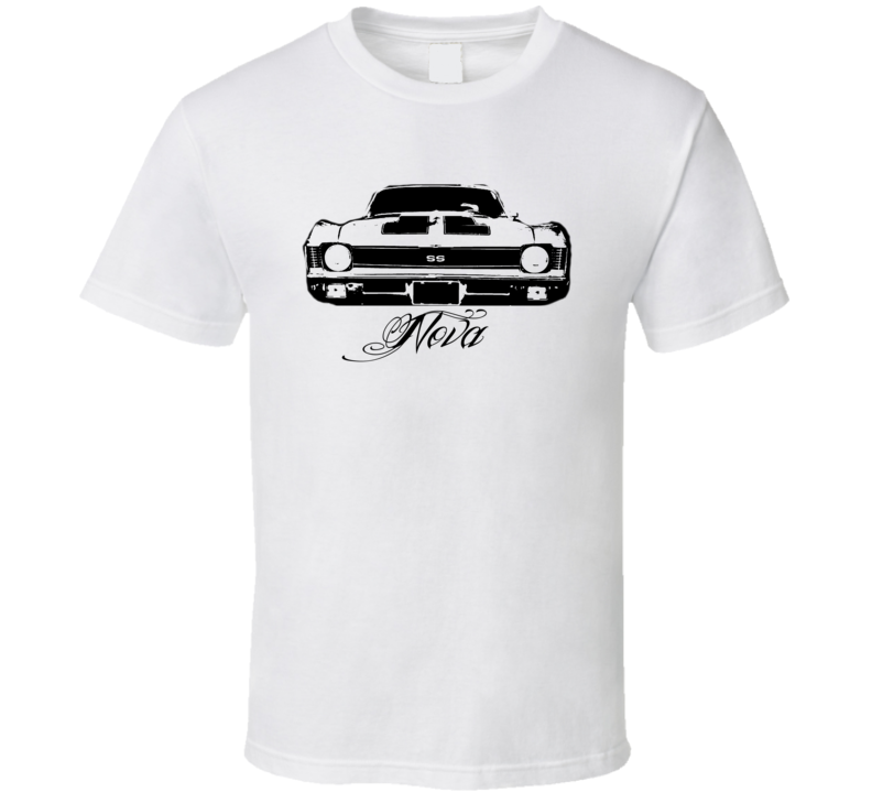 1970 Chevy Nova Grill View Model Light Shirt