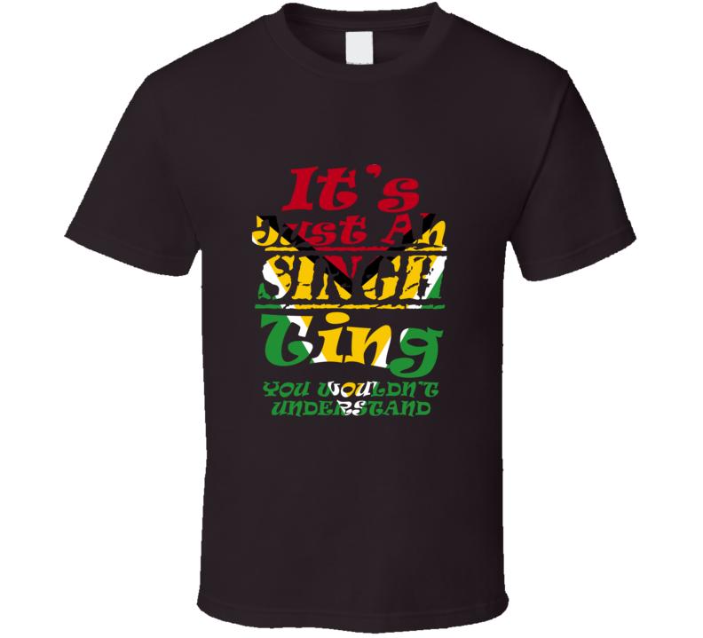 Singh Ting (Guyana) T Shirt