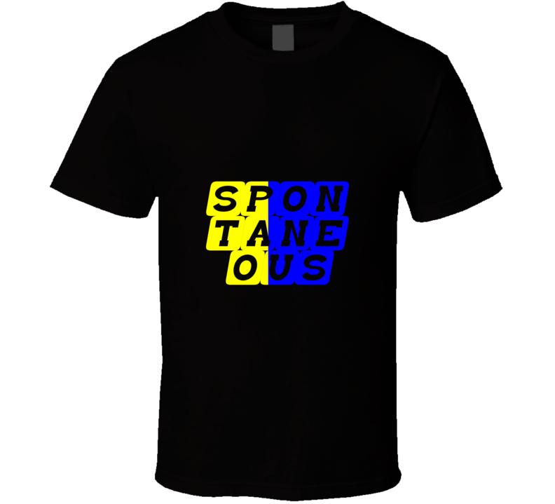 Spontaneous Soca T-Shirt