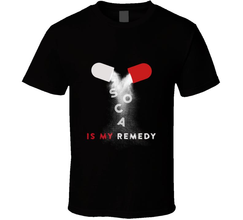 Soca Is My Remedy T-Shirt, Tank & More (Dark)