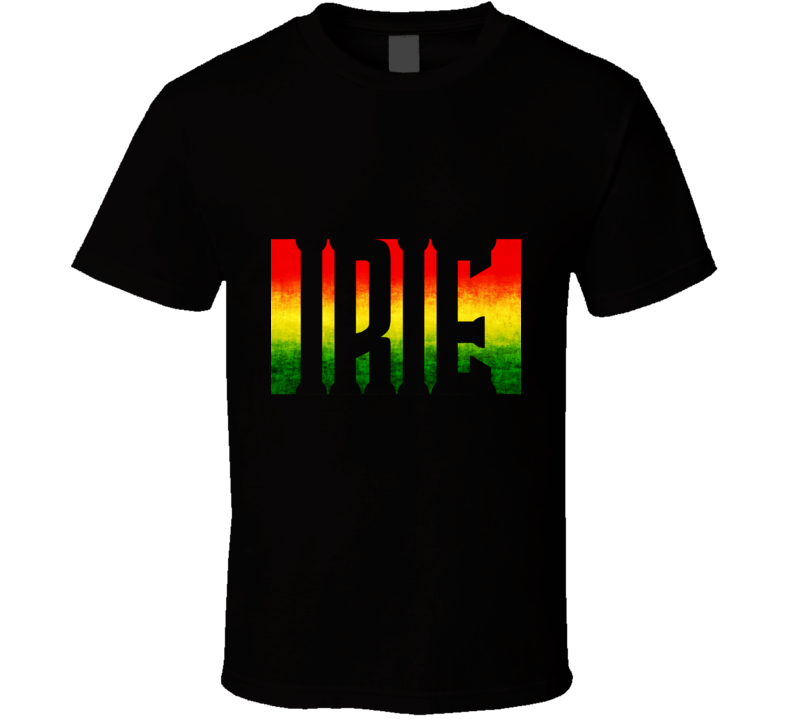 Irie Rasta Colors T Shirt