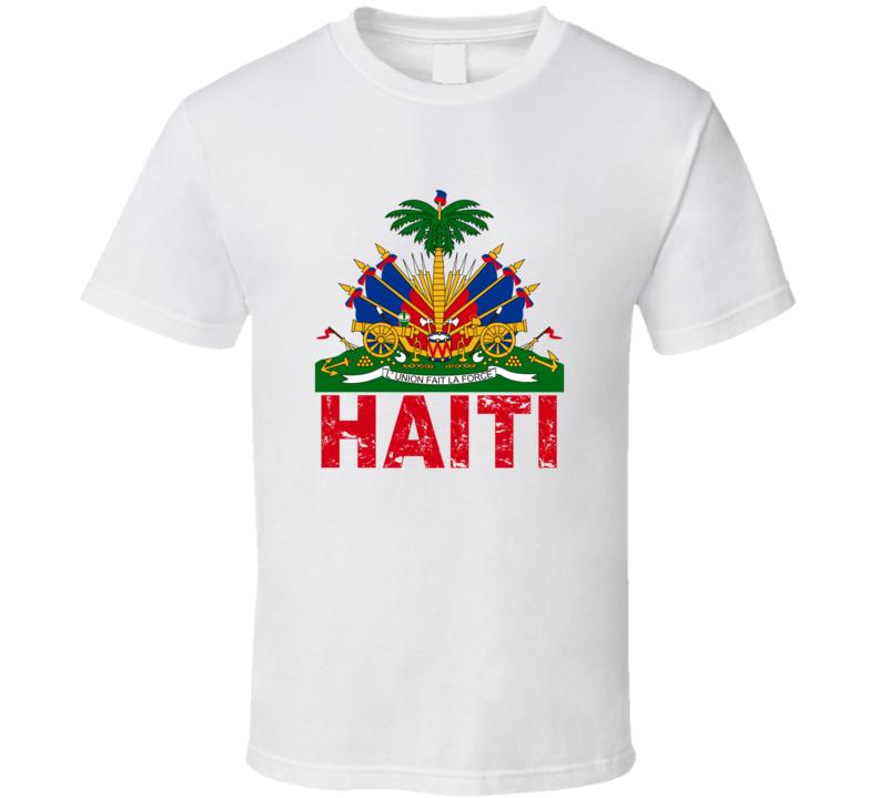 Haiti Represent T Shirt