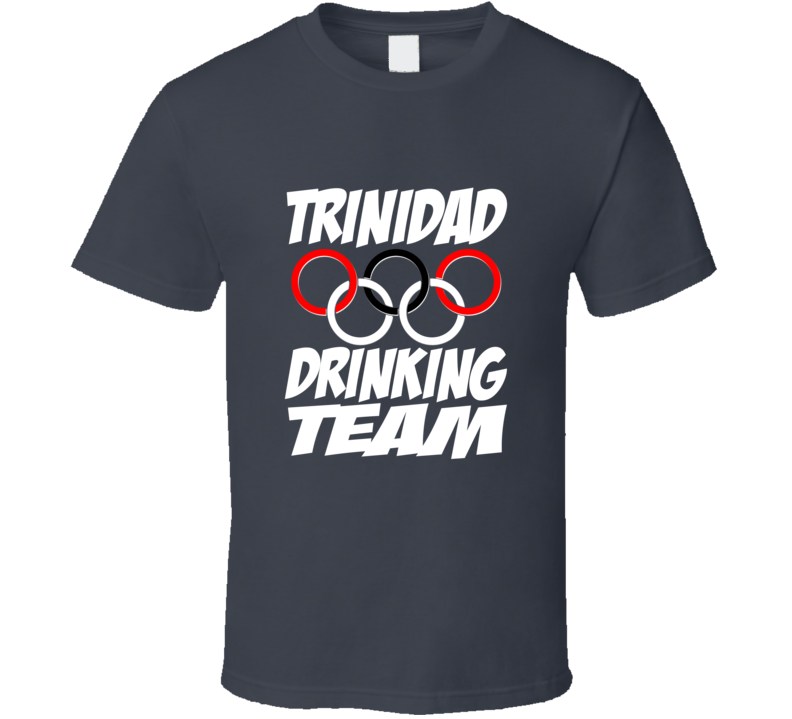 Official Trinidad Olympic Drinking Team Shirt
