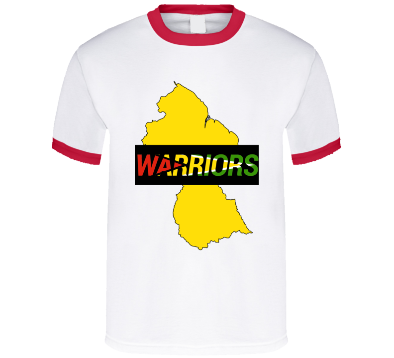 Guyana Warriors Cricket T-shirt
