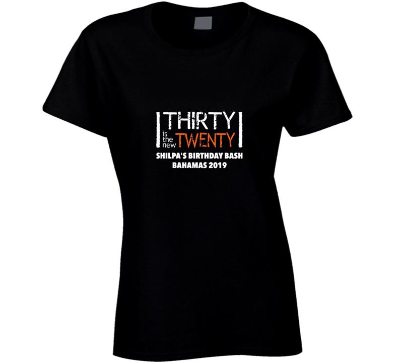 Birthday Ladies T Shirt