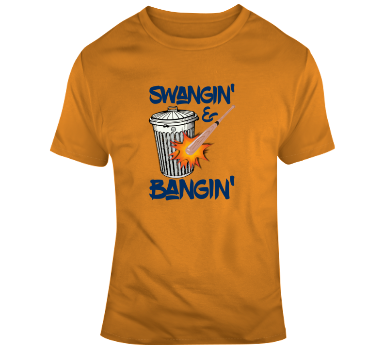 Houston Baseball Swanging & Banging T Shirt