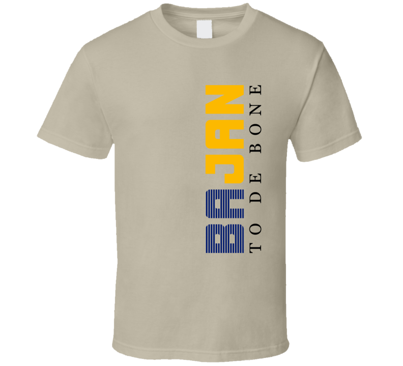 Bajan To De Bone (Barbados T-Shirts)