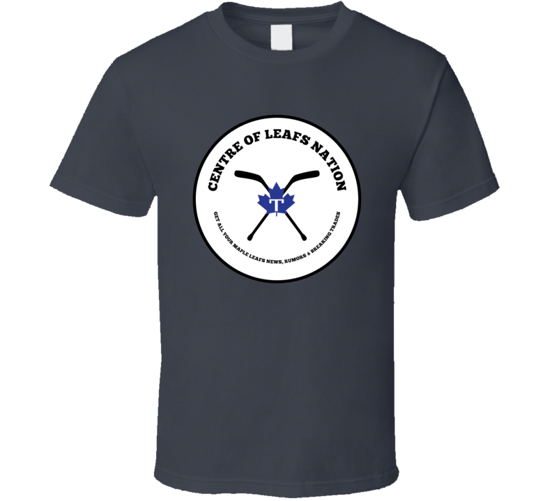 Centre Of Leafs Nation T Shirt