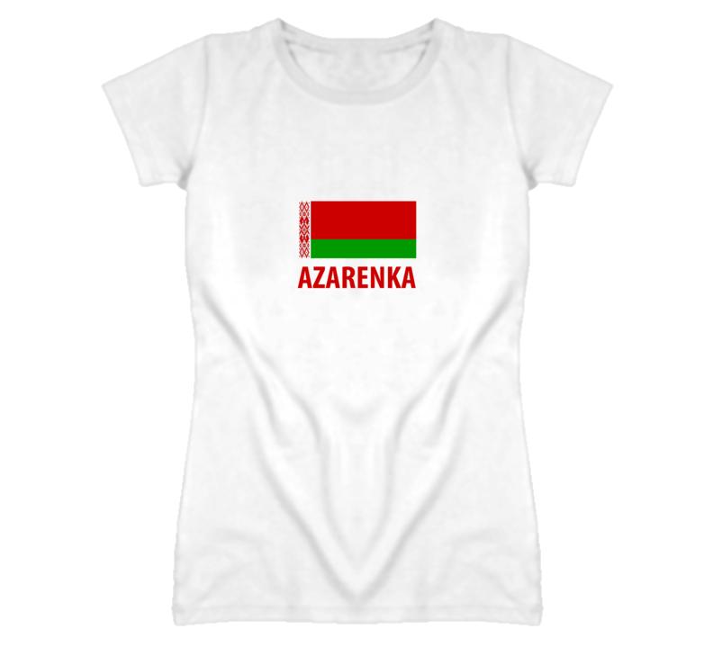 VICTORIA AZARENKA - BELARUSE TENNIS STAR T Shirt