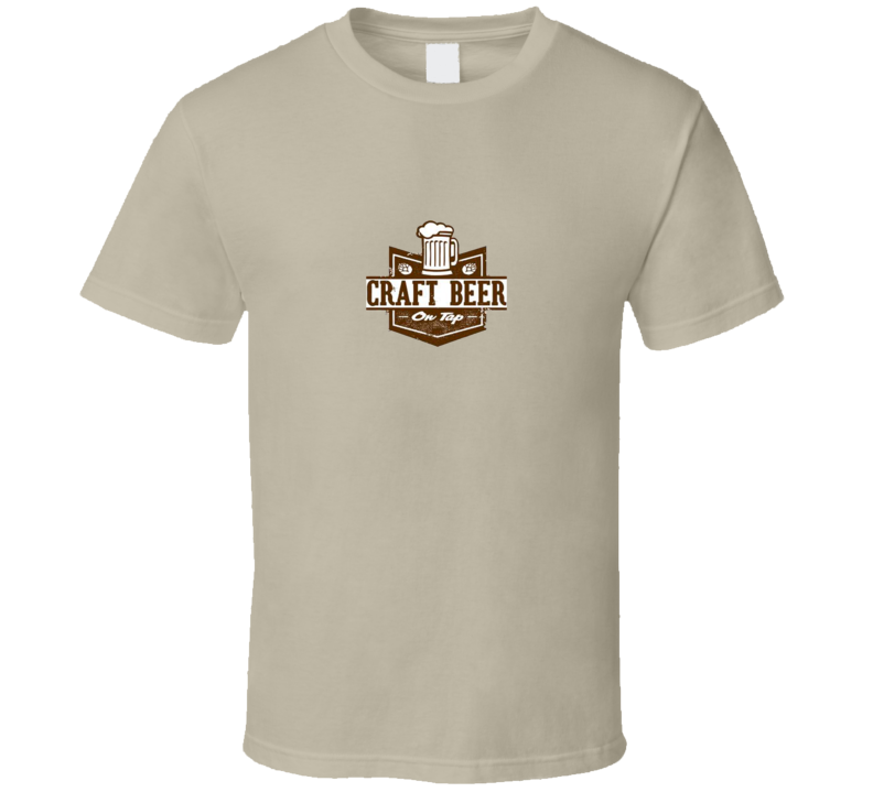 CRAFT BEER ON TAP T Shirt