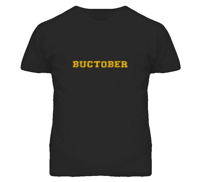 Buctober Pittsburgh T Shirt