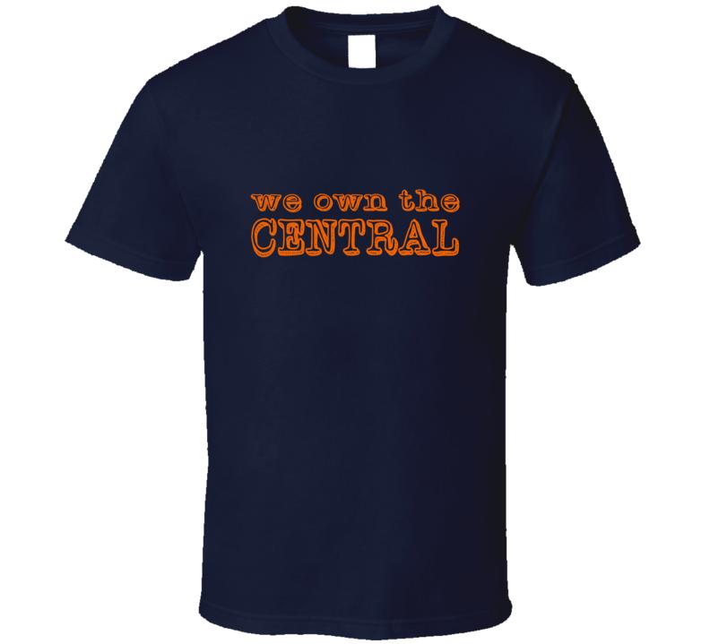 we own the Central Detroit Baseball T Shirt