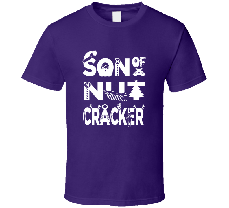 Son Of A Nutcracker Will Ferrell Elf Movie inspired HolidayT Shirt